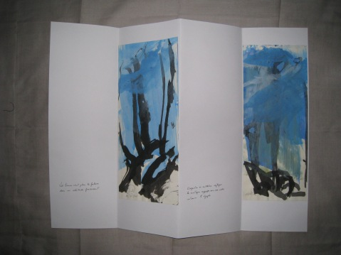 Poèmes de la falaise de Roc d'Ambanne, 2011-2013, 1a