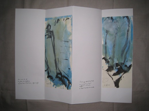 Poèmes de la falaise de Roc d'Ambanne, 2011-2013, 2a