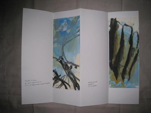 Poèmes de la falaise de Roc d'Ambanne, 2011-2013, 3b
