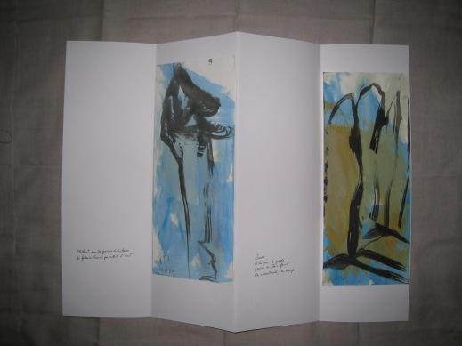 Poèmes de la falaise de Roc d'Ambanne, 2011-2013, 4a