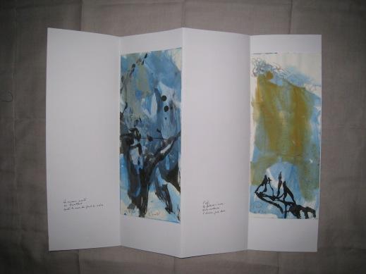 Poèmes de la falaise de Roc d'Ambanne, 2011-2013, 5a
