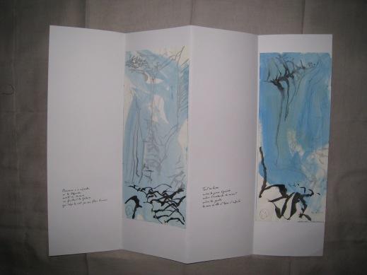Poèmes de la falaise de Roc d'Ambanne, 2011-2013, 6b