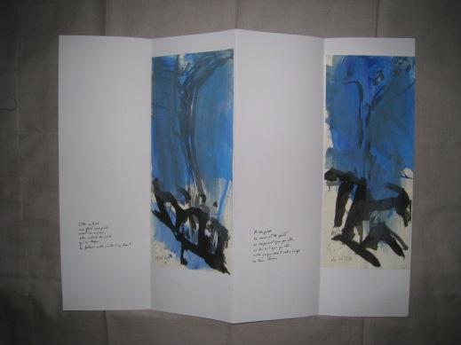 Poèmes de la falaise de Roc d'Ambanne, 2011-2013, 7b