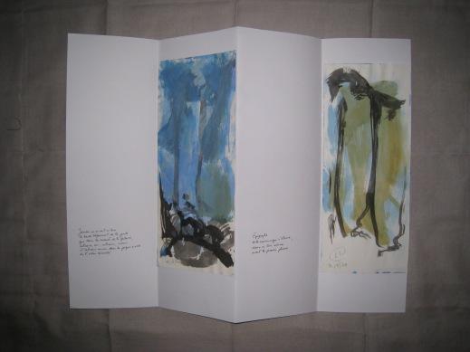Poèmes de la falaise de Roc d'Ambanne, 2011-2013, 9a