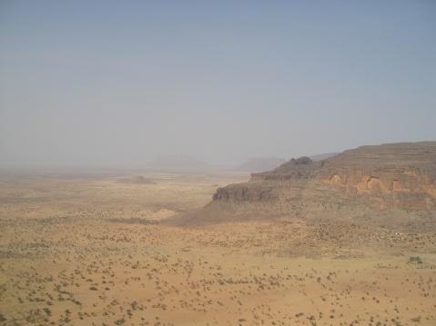 L'oasis de Boni, février 2009